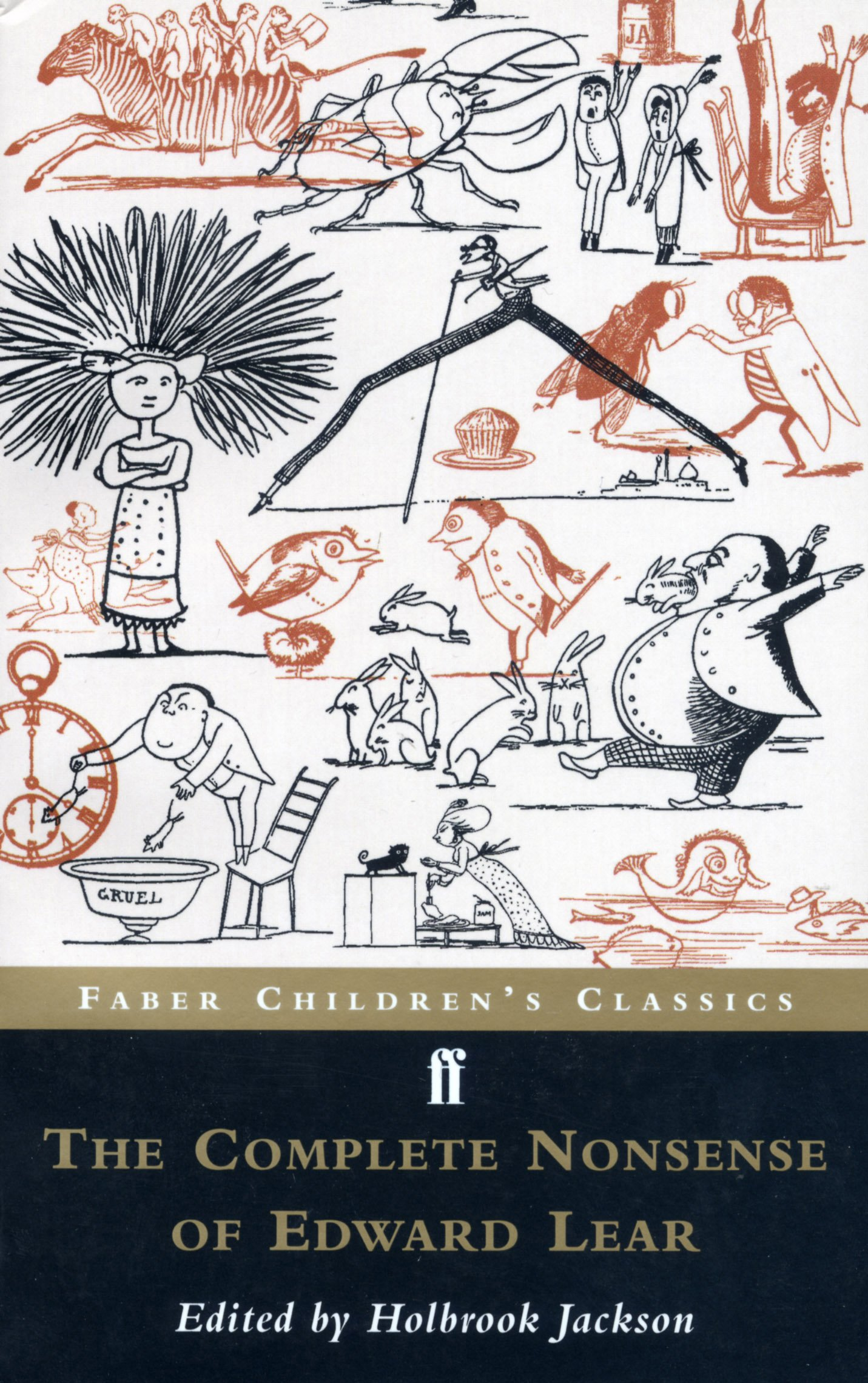The Complete Nonsense of Edward Lear FF Childrens Classics: Amazon ...