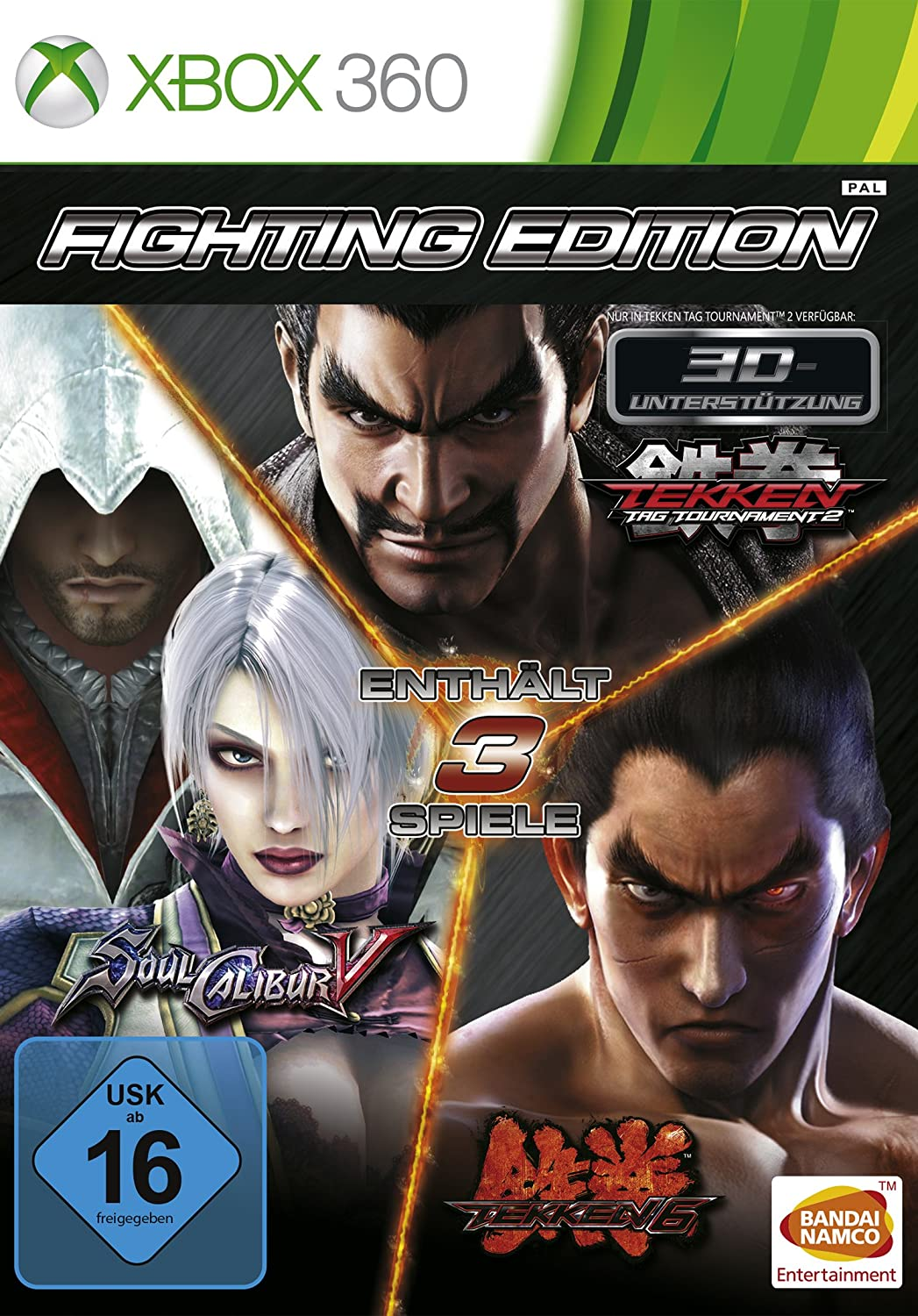 Fighting Pyramid Edition Soul Calibur V Tekken 6 Tekken Tag Tournament 2 Software Amazon Co Uk Pc Video Games