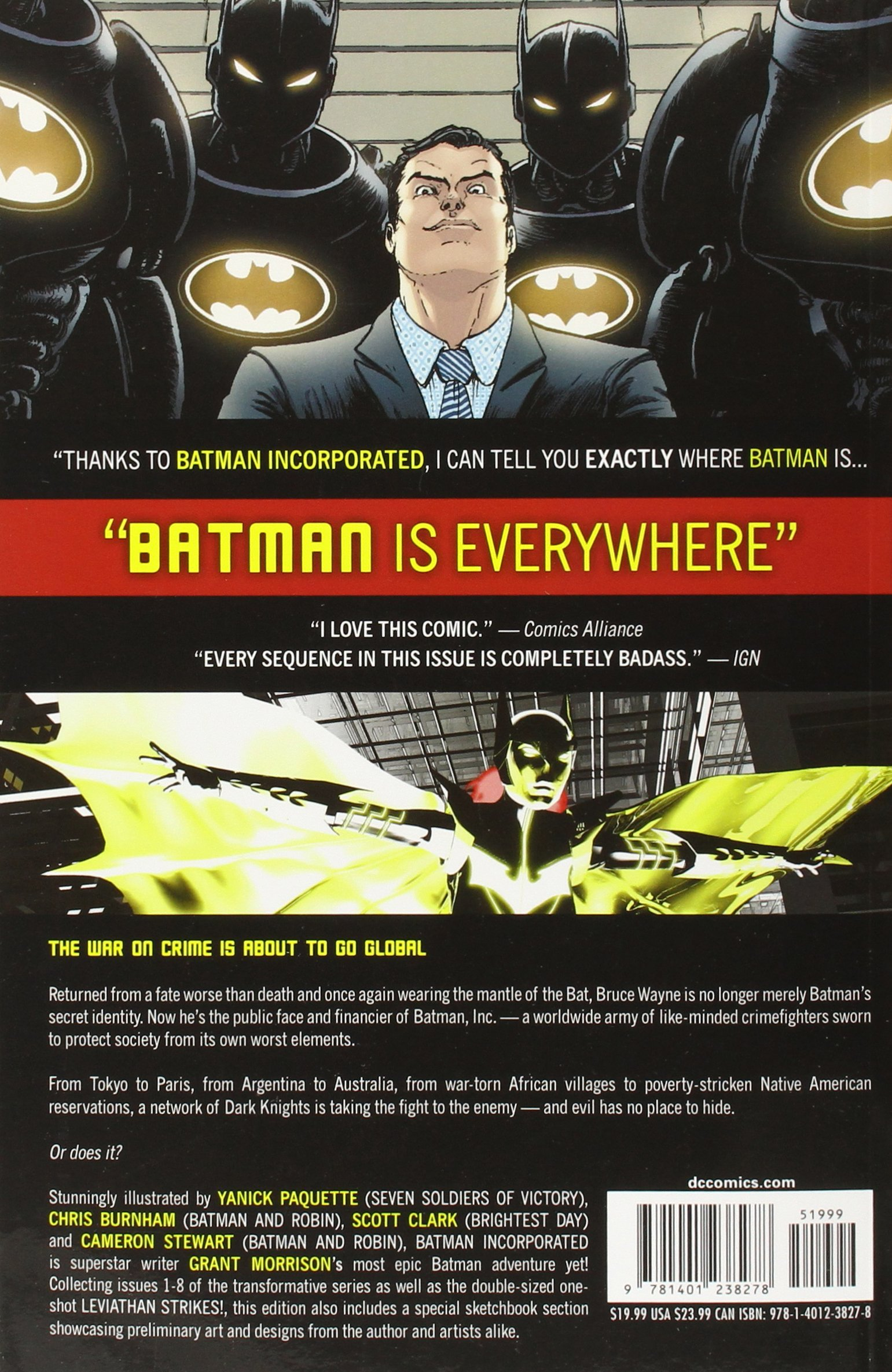 Batman Incorporated: Grant Morrison, Yanick Paquette, Chris Burnham