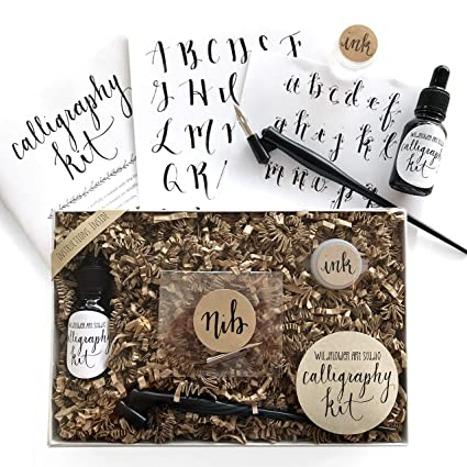 Amazon Com Calligraphy Starter Kit Beginner Calligraphy Lettering