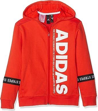 adidas Kinder Sport Id Full Zip Hooded Trainingsanzug Jacke