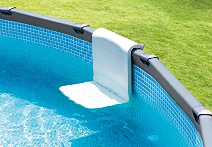 Intex Pool Bench Foldable Seat For Above Ground Pools Toys Games