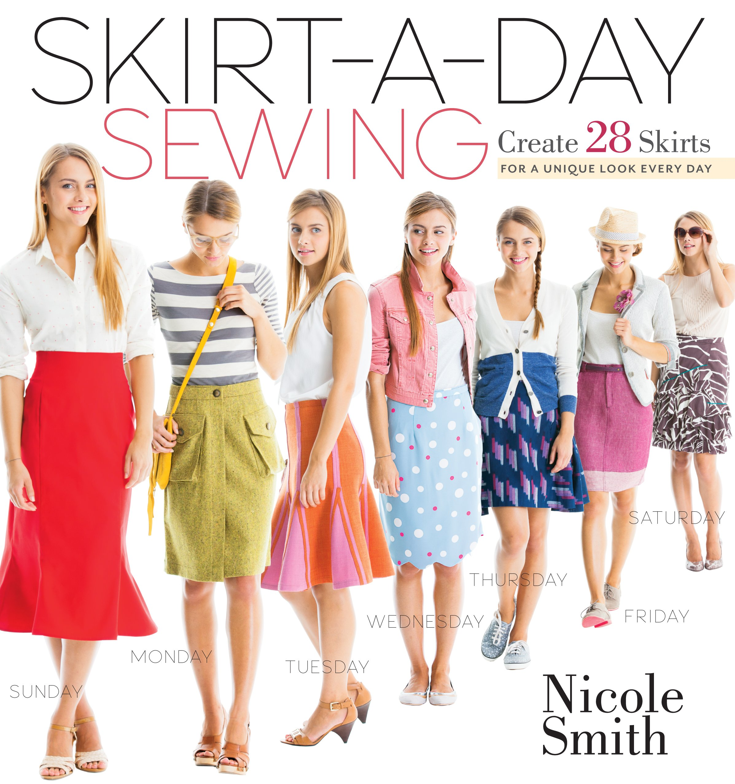 Best rated in sewing patterns helpful customer reviews amazon skirt a day sewing create 28 skirts for a unique look every day jeuxipadfo Image collections