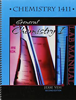 laboratory manual for chem 1411 general chemistry 1 gholam h rh amazon com