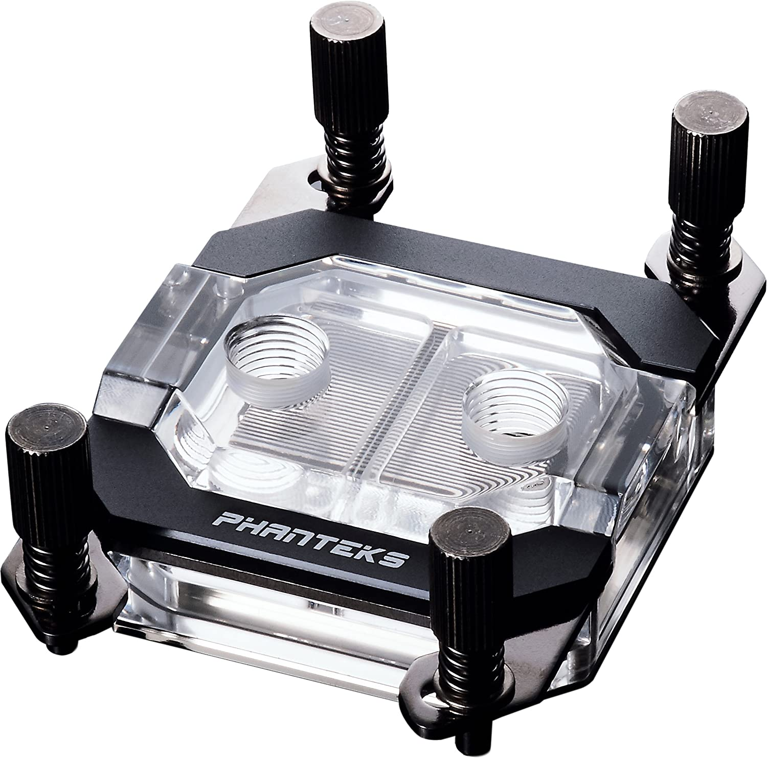 Phanteks PH-C350A_BK01 CPU Water Block LED Copper Base Nickel-Plated Acrylic Aluminum Cover Cooling