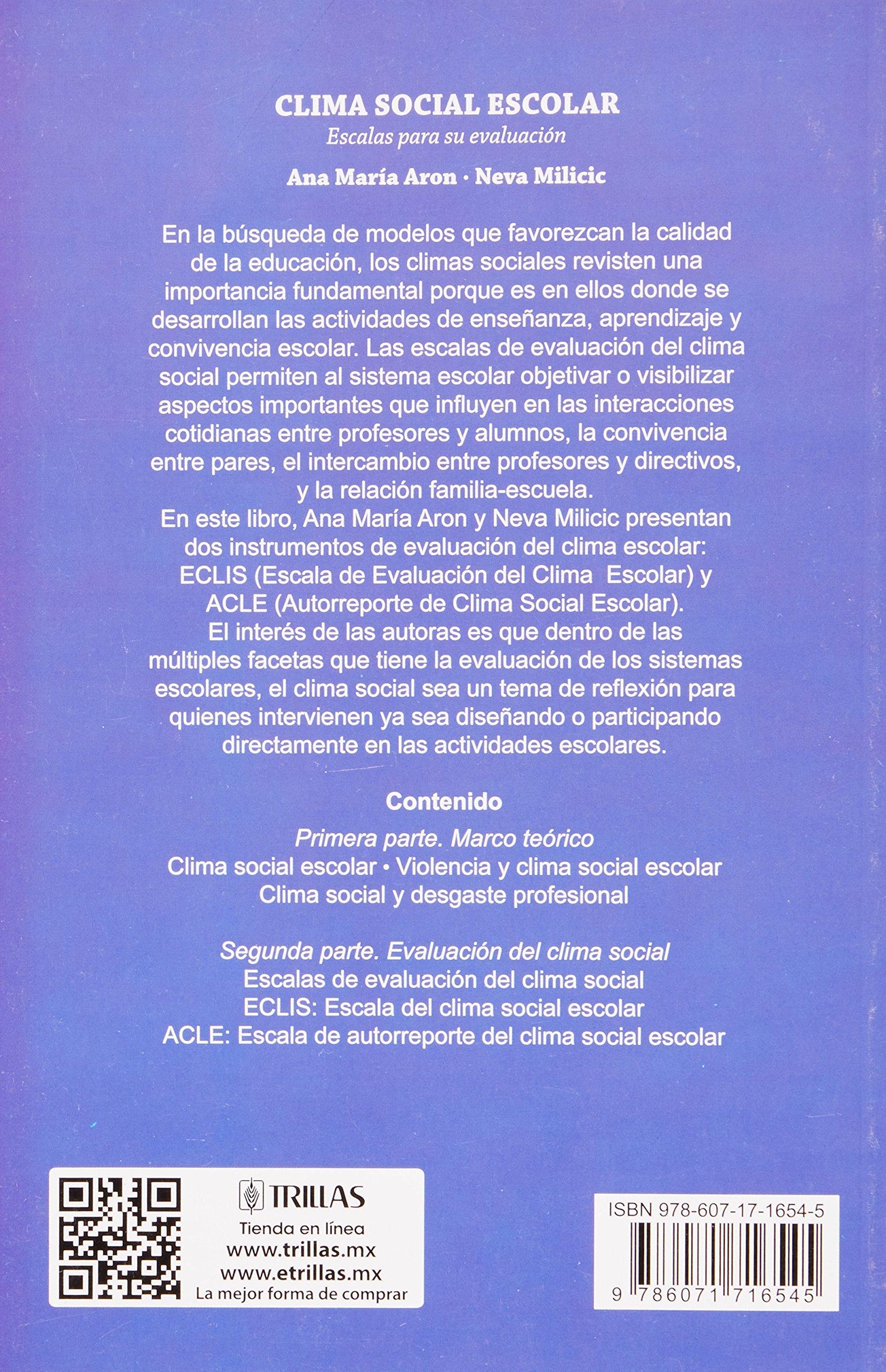 CLIMA SOCIAL ESCOLAR EPUB