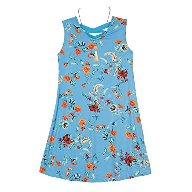 7fdfa99fbb6a Amazon.com  Amy Byer Girls  Big Everyday a-Line Dress with Necklace ...