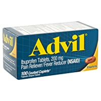 Advil 200 mg Coated Caplets 100 ea