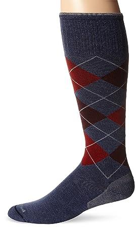 Sockwell Circulator – Calcetines de Argyle Calcetines de compresión Circulador, Hombre, Tela Vaquera. Pasa ...