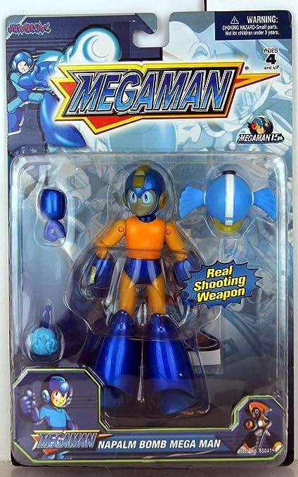 Amazon.com: Megaman – Bombilla X Bomba De Napalm Mega Man ...