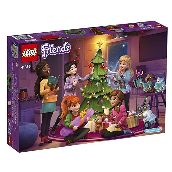Amazoncom Lego Friends Advent Calendar 41353 New 2018 Edition
