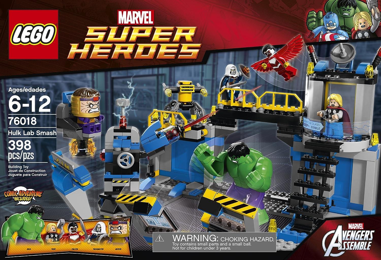 lego marvel hulk lab smash   pixshark     images