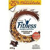 Cereales Nestlé Fitness con chocolate negro - Copos de trigo integral, arroz y avena integral