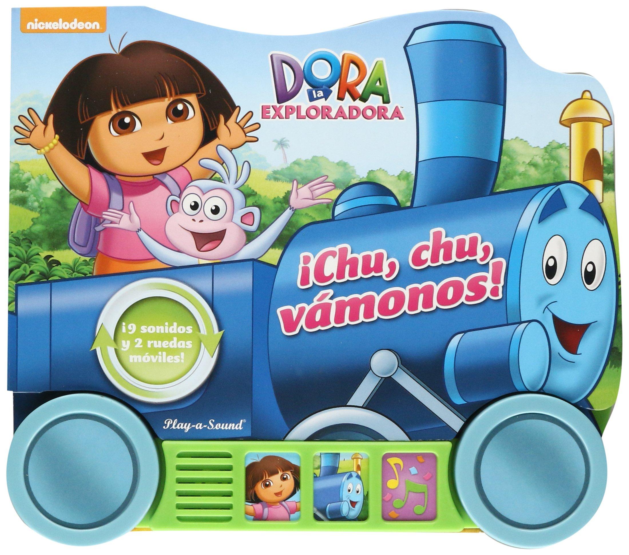 PEQUEÑOS VEHICULOS: DORA CHOO CHOO (Spanish) Paperback – 2014