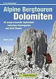 Alpine Bergtouren Dolomiten: Tourenführer mit 45 anspruchsvollen Gipfelzielen wie Langkofel, Civetta oder Antelao zwischen Rosengarten und Drei Zinnen ... der Dolomiten (Erlebnis Bergsteigen)