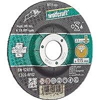Wolfcraft 1621300 1621300-5 Discos de Cortar para Piedra