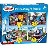 Ravensburger 7070 Thomas & Friends 4 in Box (12, 16, 20 and 24 Pieces) Jigsaw Puzzles