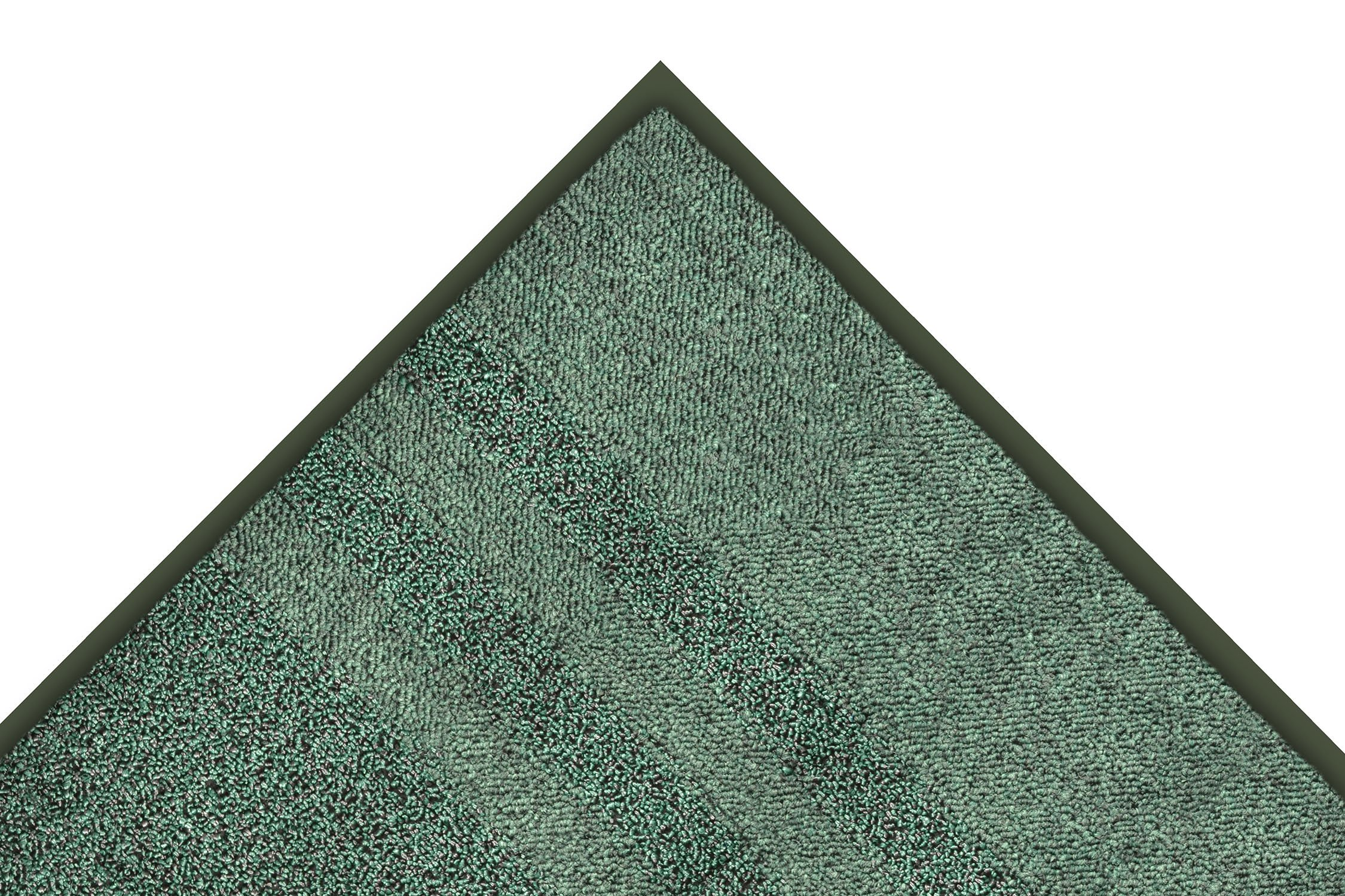 Notrax 137 Opera Entrance Mat, for Upscale Entrances, 4' Width x 10' Length x 3/8'' Thickness, Hunter Green by NoTrax