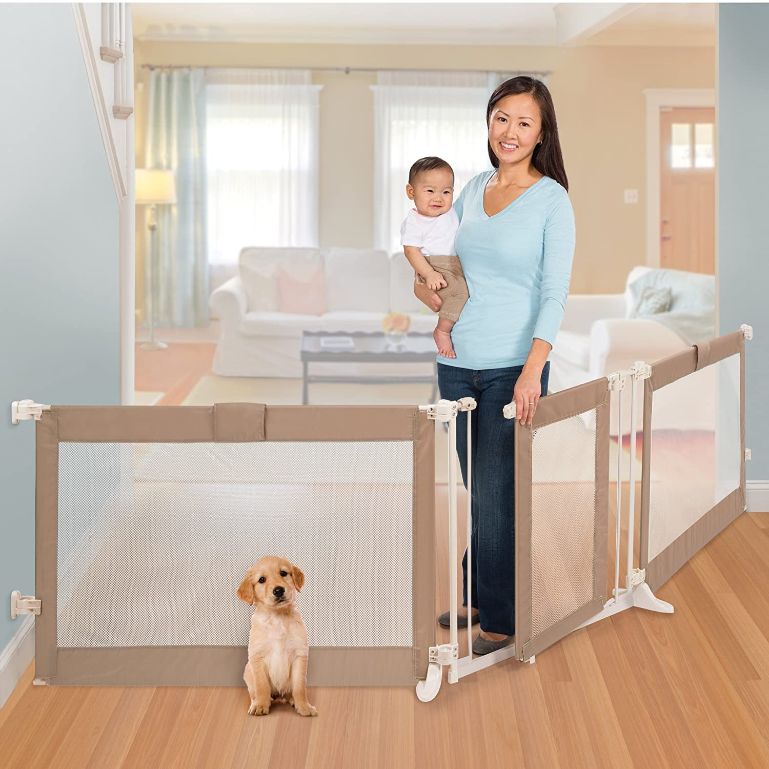 amazon com summer infant custom fit walk thru gate baby