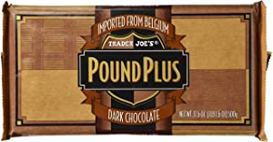 Trader Joes Pound Plus Dark Chocolate 17.6 oz