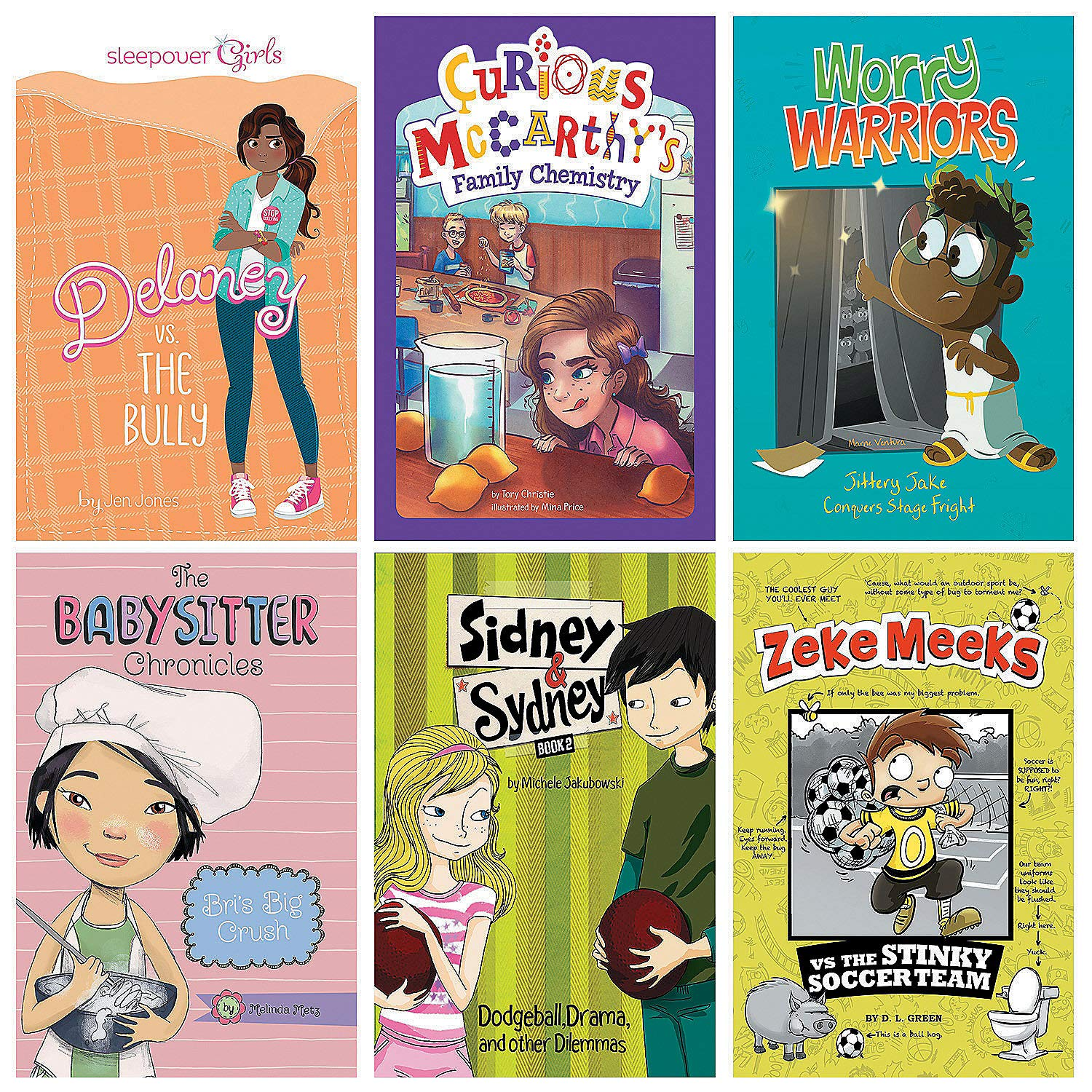 Fun Express - Realistic Fiction Book Set - Gr3-4 - Educational - Teaching Aids - Language Arts - 6 Pieces by Fun Express