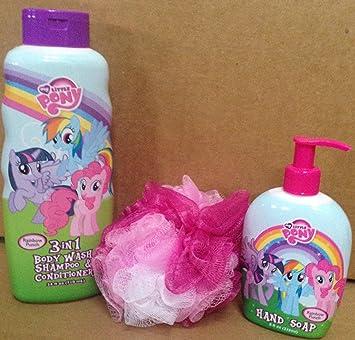 My Little Pony 3-in-1 Rainbow Punch Body Wash, Shampoo & Conditioner ...