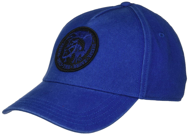 (ディーゼル) DIESEL ユニセックス キャップ CINDI HAT 00S05Q0JAPG B07527942T  ブルー(Mazarine Blue) One Size