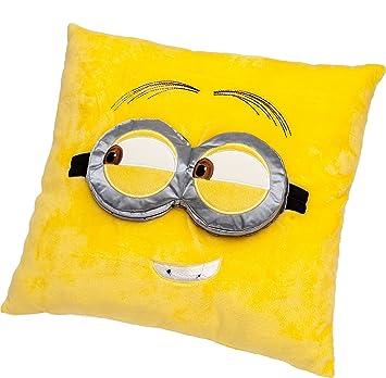 Despicable Me - Minions - Cojín con los Ojos en 3D en Suaves ...