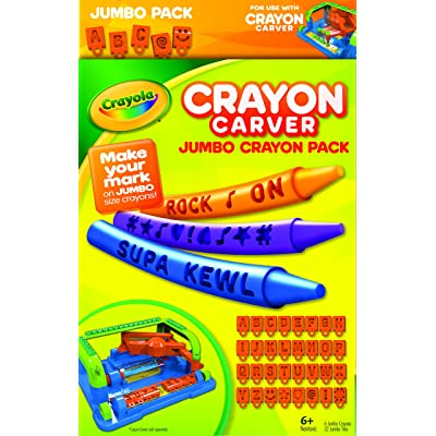 Crayola Crayon Carver, Jumbo Expansion Pack: Toys & Games