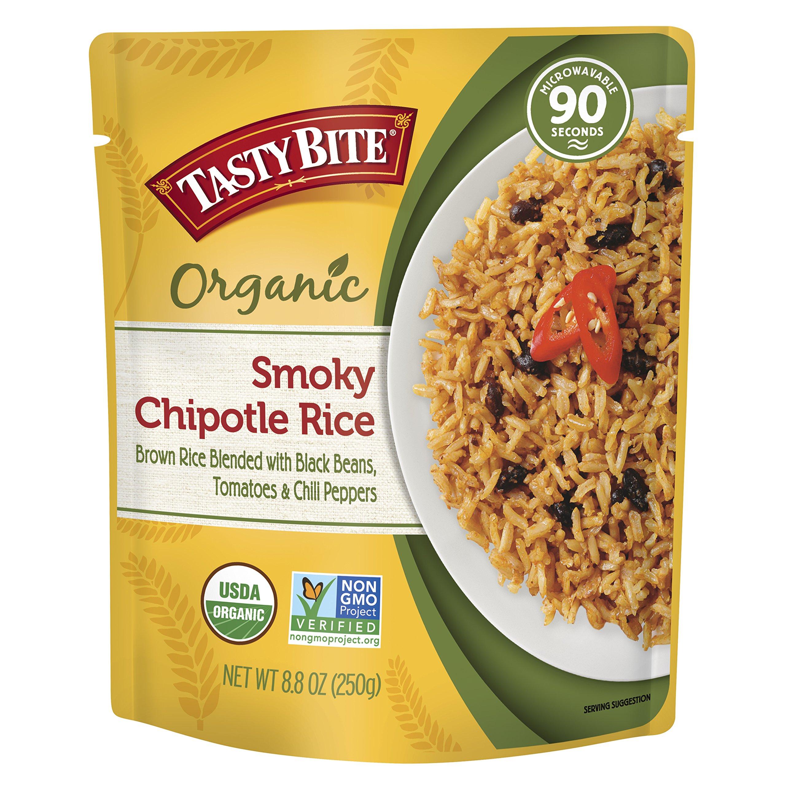 Tasty Bite Organic Smoky Chipotle Rice, 8.8 Ounce