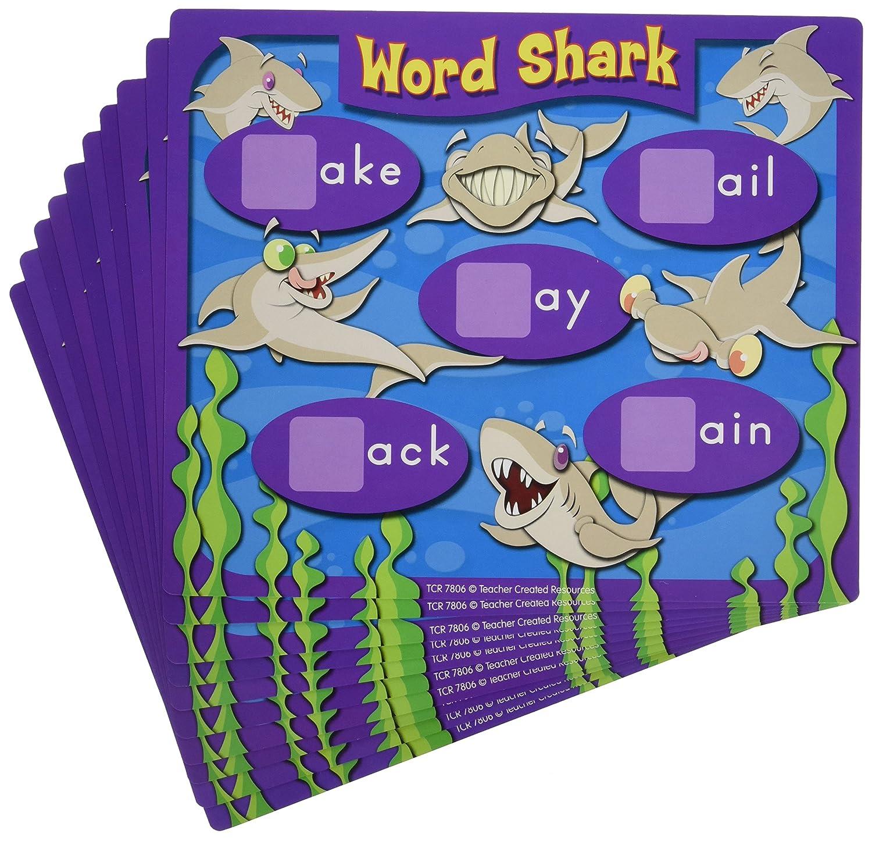 Teacher Created Resources Word Shark: Word Chunk Game (7806)
