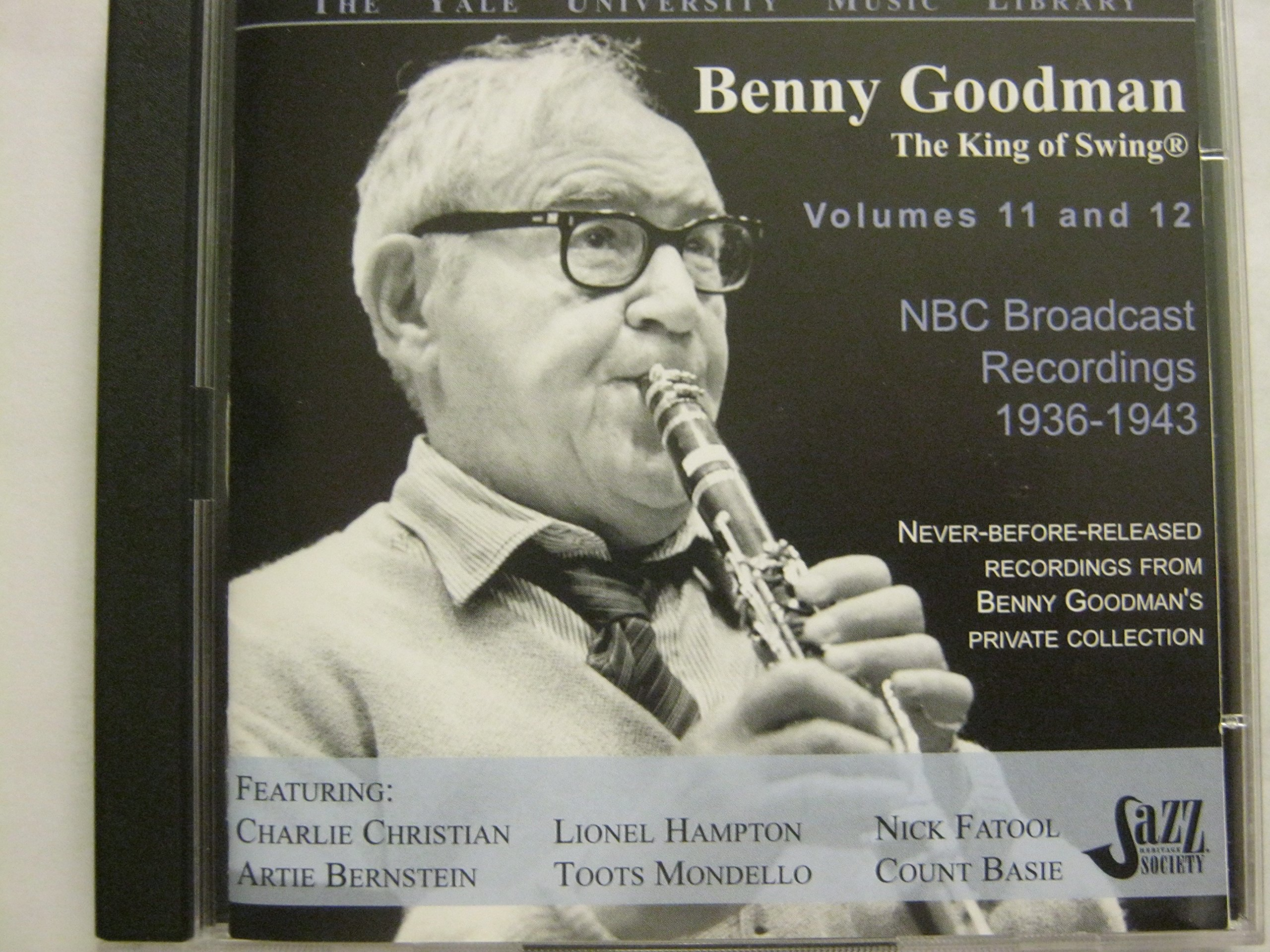 BENNY GOODMAN YALE ARCHIVES VOLUMES 11 AND 12 : NBC Broadcast Recordings 1936-1943 by Jazz Heritage Society