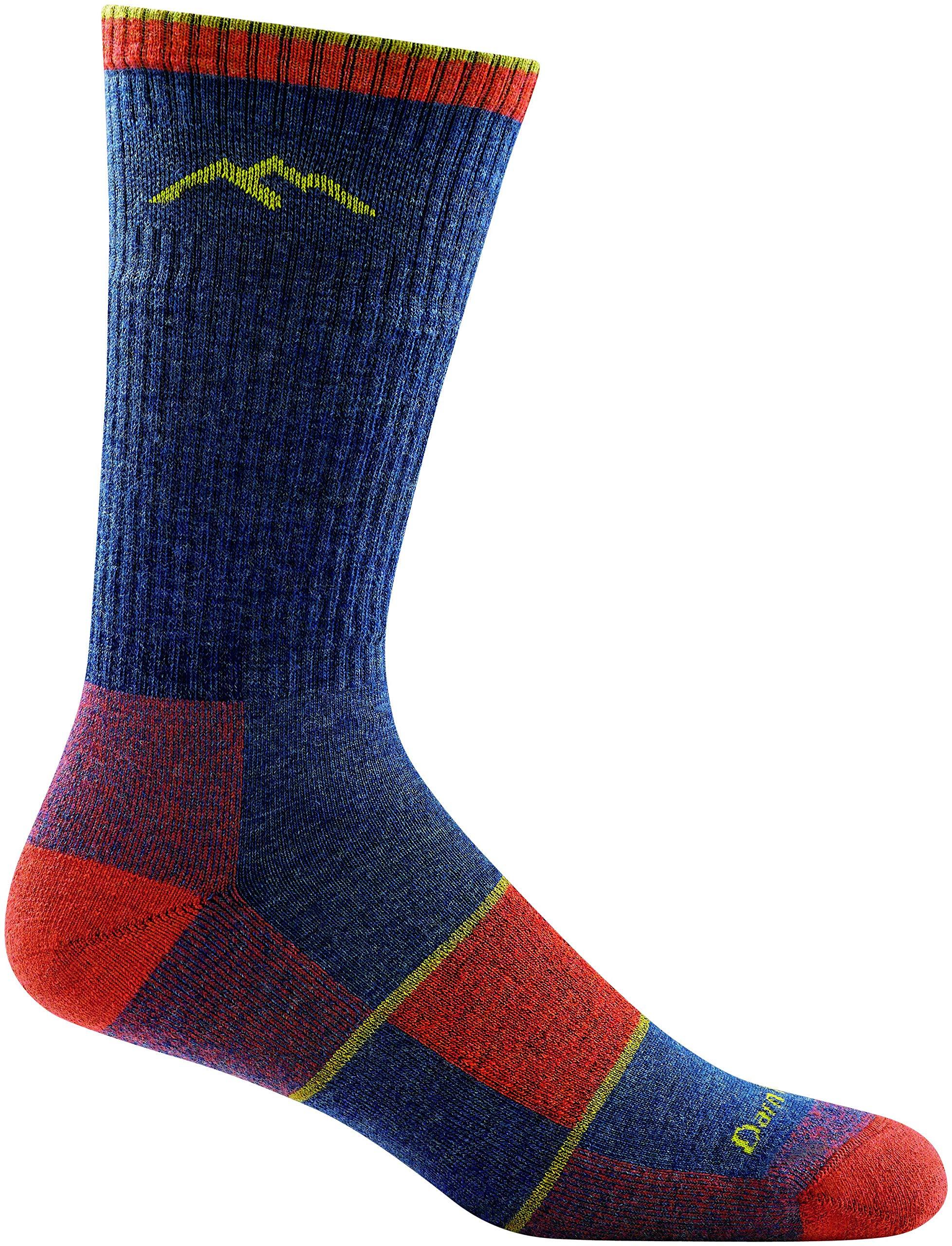 Darn Tough Hike/Trek Cushion Boot Sock - Men's Denim X-Large by Darn Tough