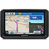 """Garmin Dezl 770 LMT-D Europa Navigatore per Mezzi Pesanti, Display Capacitivo da 7"""", Mappa Europa con Aggiornamento a Vita e Infotraffico Premium Digitale DAB, Nero/Antracite"""