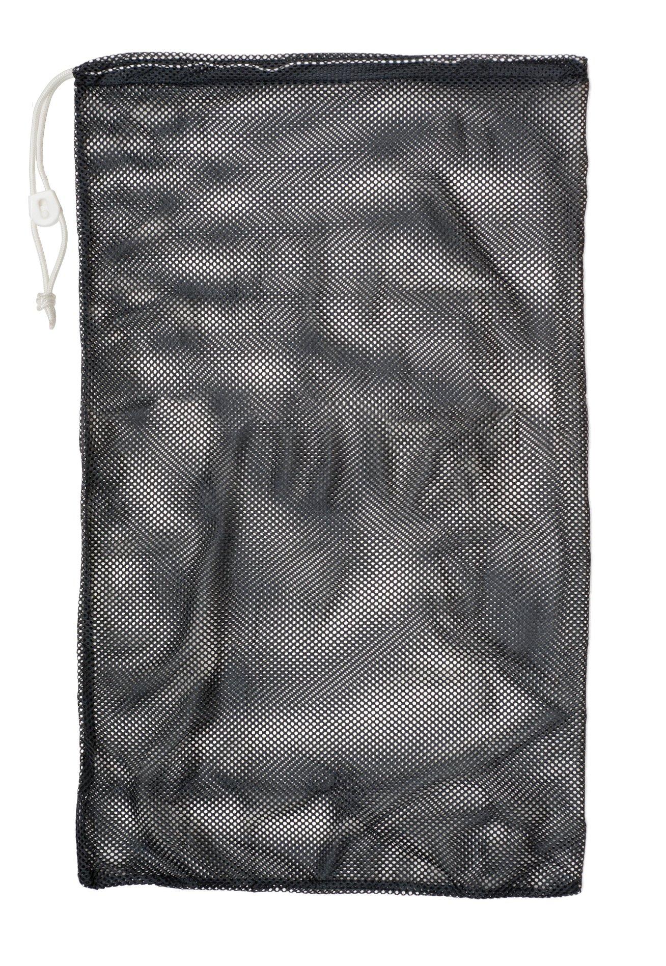 Champion Sports Mesh Equipment Bag, Black, 24'' x 36'' by Champion Sports (Image #1)
