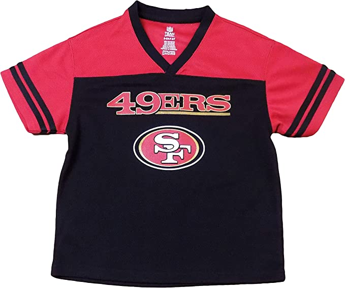 Performance Hooded Sweatshirt 18 San Francisco 49ers Team Apparel Youth Size X-Large