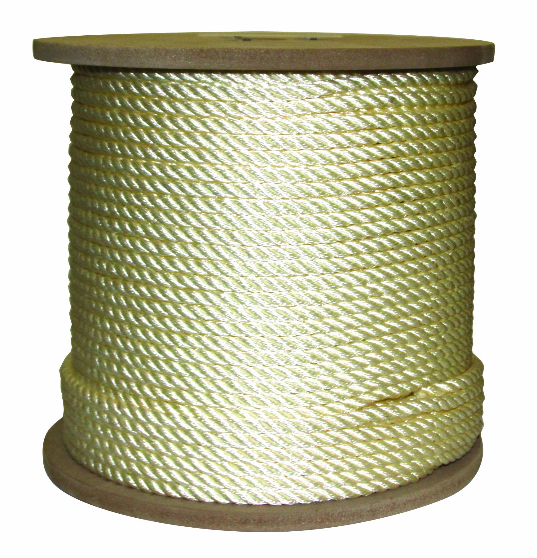 Rope King TN-38600 Twisted Nylon Rope 3/8 inch x 600 feet