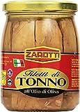 Zarotti - Filetti di Tonno, all'Olio di Oliva - 520 g