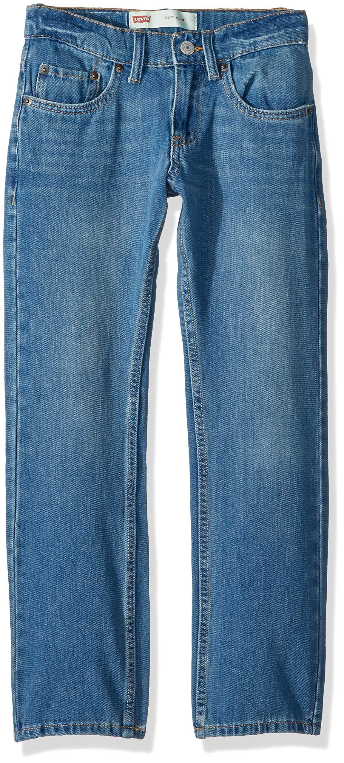 Levi's Boys' Big 511 Slim Fit Performance Jeans, Dallas 14