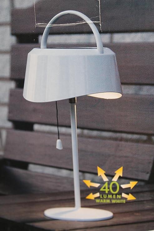 Kamaca - Lámpara de Mesa Solar LED (40 lúmenes, luz Blanca ...