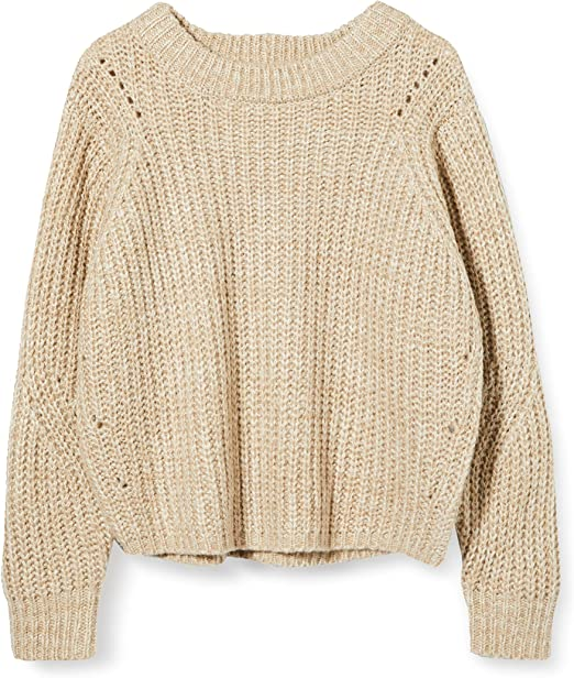 TALLA L. PIECES Pcjoslyn LS Knit suéter para Mujer