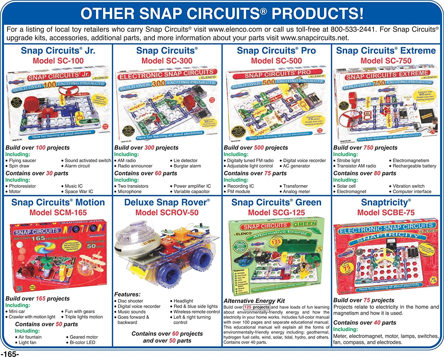 Elenco Electronics Snap Circuits R Deluxe Sound Light Strobe Circuit Combo With Battery Eliminator No Soldering Tools Batteries Its A