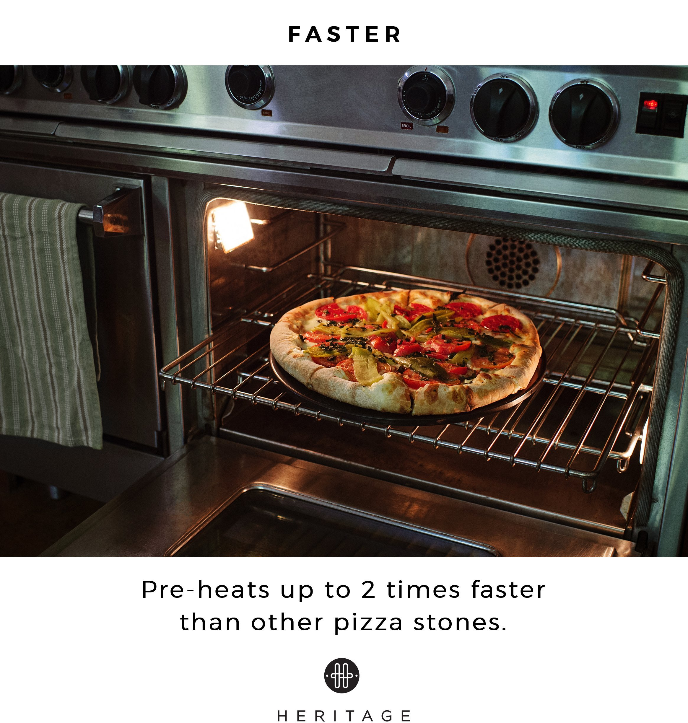 how to clean a stained pizza stone