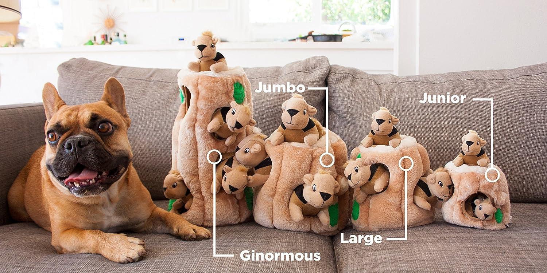 Squirrel Dog Plush Toy