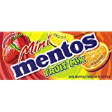 Mini Mentos Chewy Mint Candy Theater Box, Fruit, 2.82 ounces/40 pieces (Pack of 12)