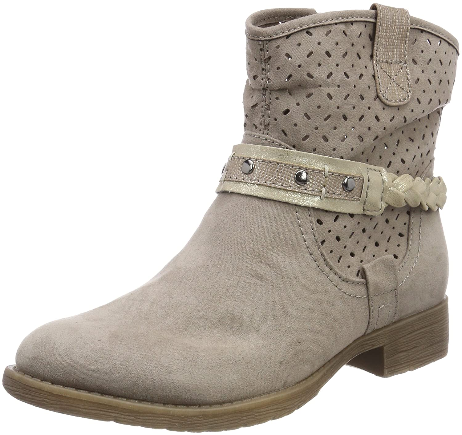 Jana 25403, B079QKWNP8 Botines 25403, Femme Botines Beige (Lt. Taupe) 0645d9a - shopssong.space