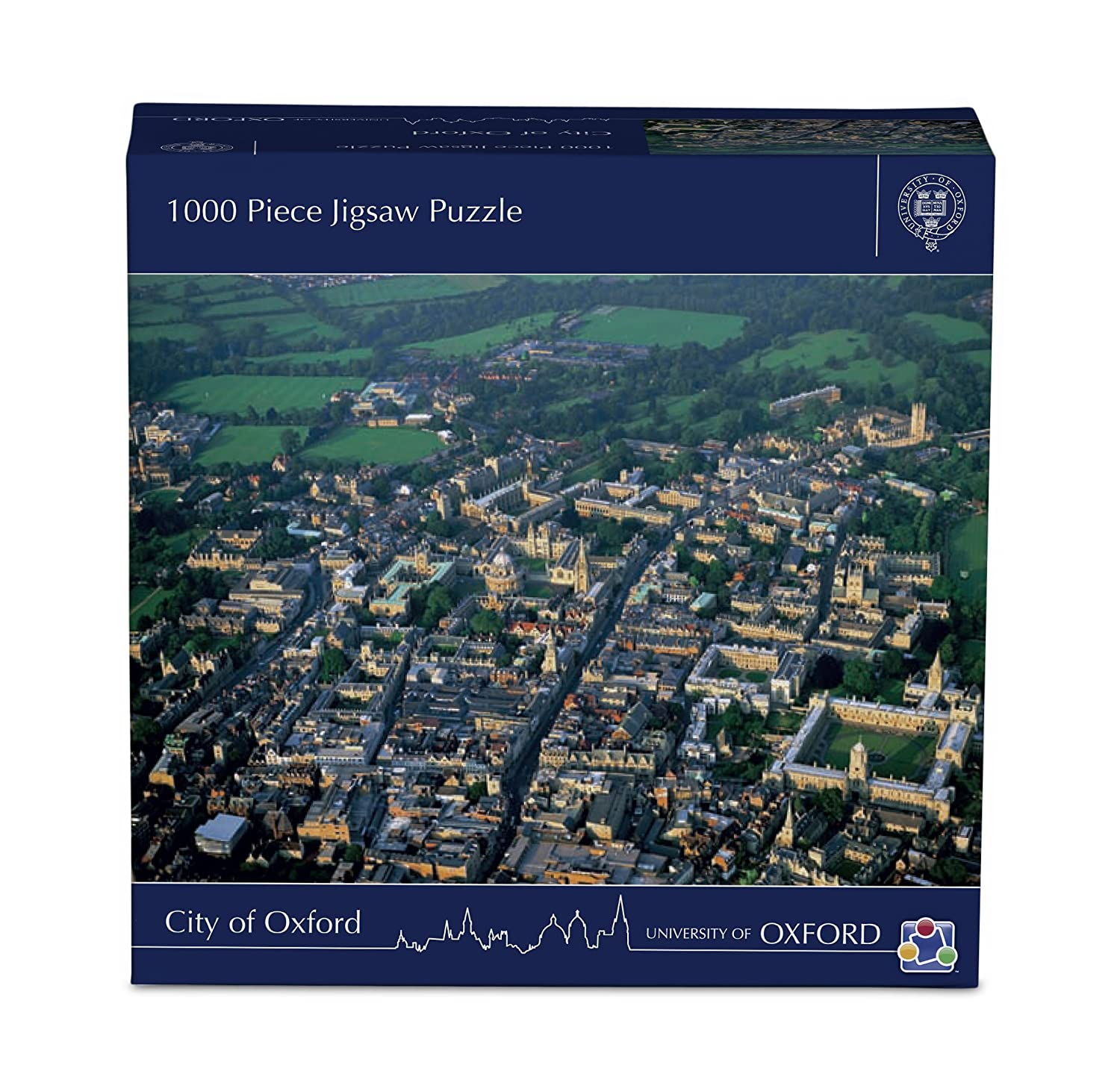 Discovery Bay Games Town of Oxford Jigsaw Puzzle 1285
