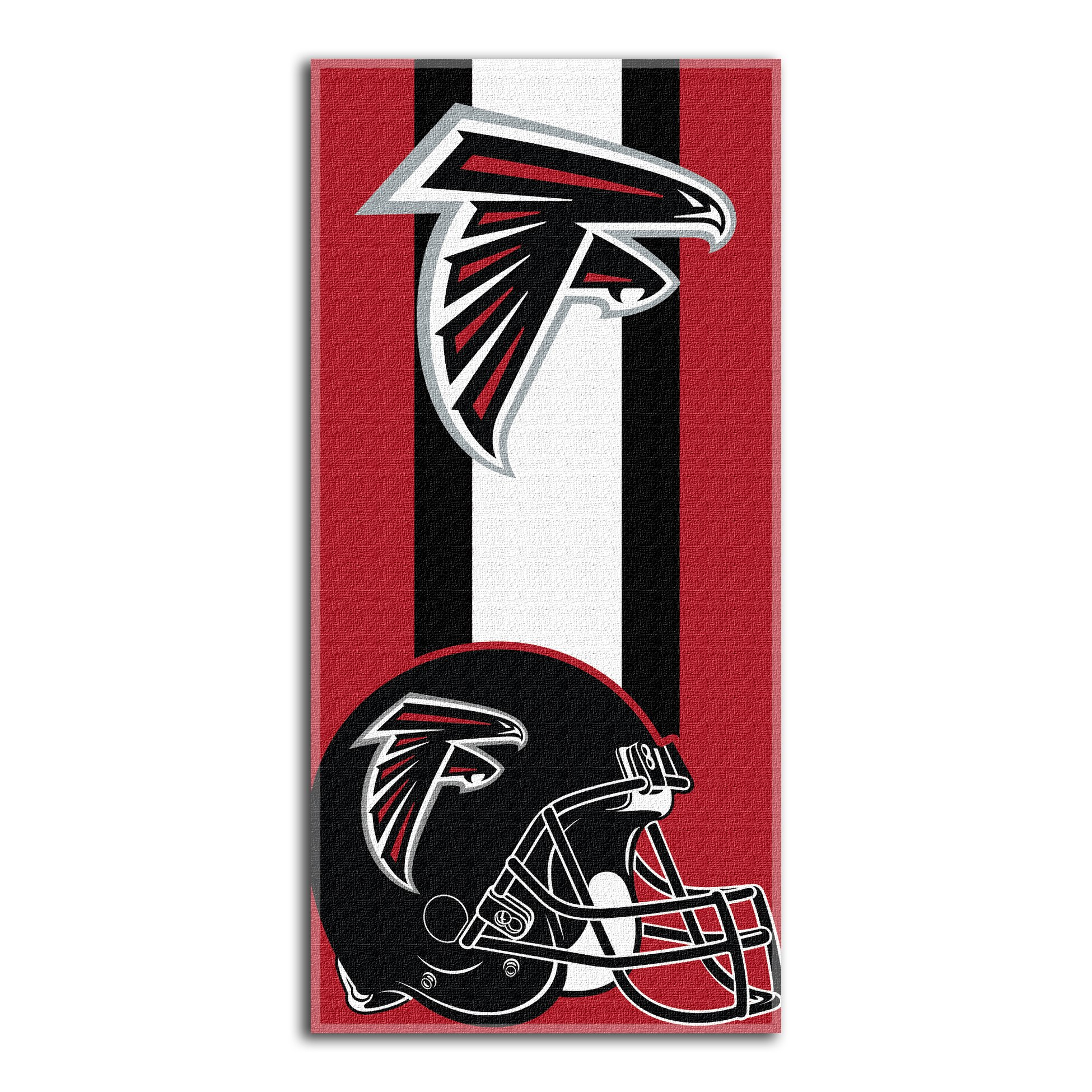 The Northwest Company Officially Licensed NFL Atlanta Falcons Zone Read Beach Towel, 30'' x 60''