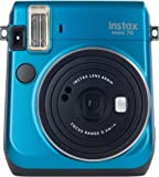 Fujifilm Instax Mini 70 Island Blue Fotocamera Istantanea per Stampe Formato 62x46 mm, Blu