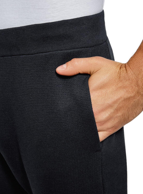 oodji Ultra Uomo Pantaloni in Maglia Sportivi